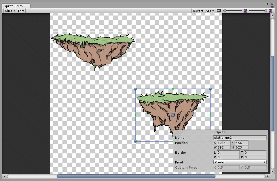 Adding and displaying a background — Pixelnest Studio